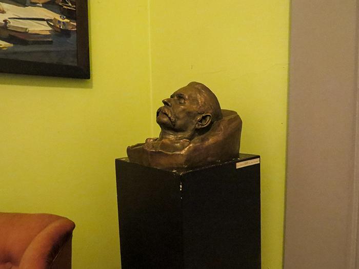 Máscara mortuária de Gorki