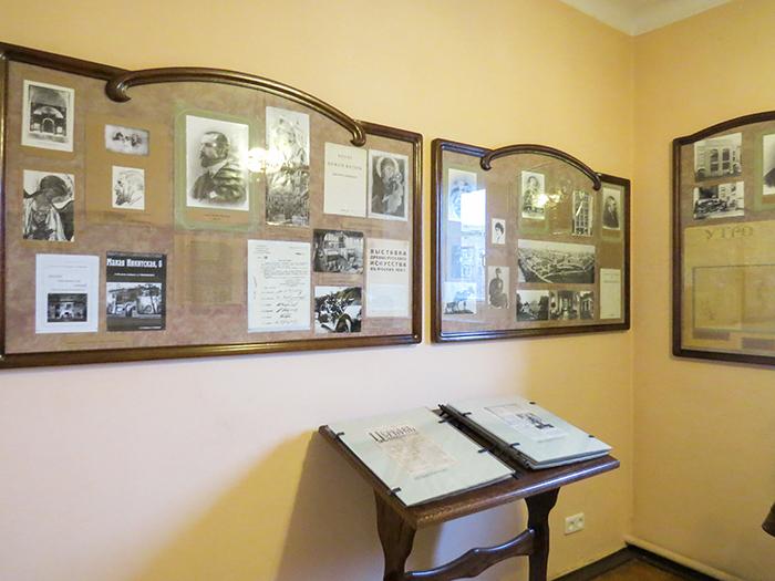 Fotos e documentos, rascunhos de livros e ensaios