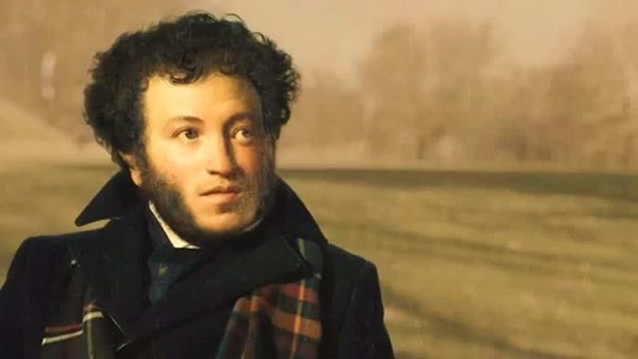 Aleksander Pushkin, ainda jovem