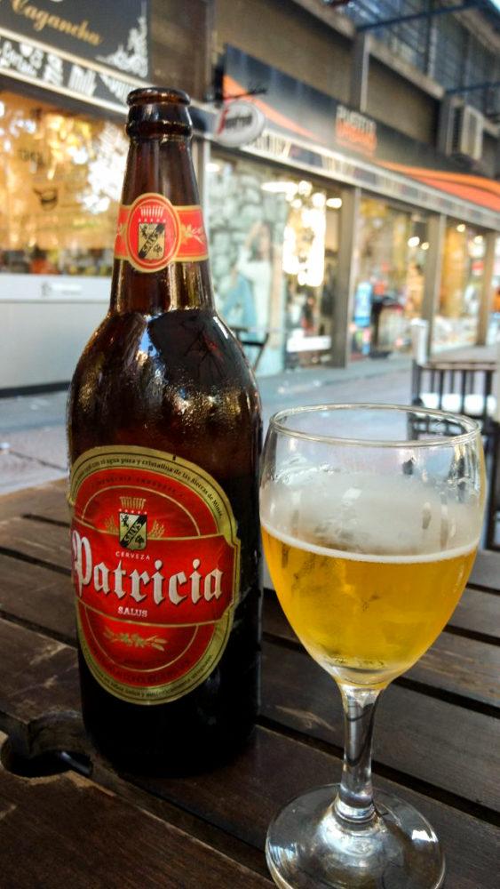 Patrícia, a cerveja preferida no Uruguai