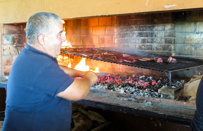 Impossível resistir a um churrasco uruguaio