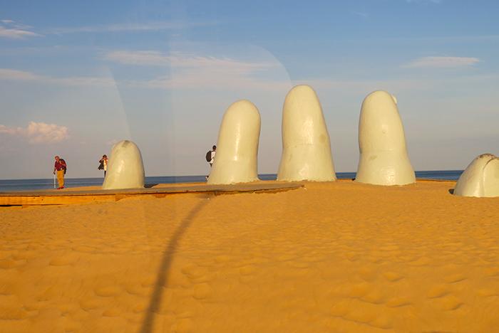 O monumento Las Manos