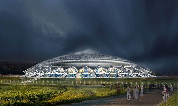 Samara Stadium - quase um disco voador