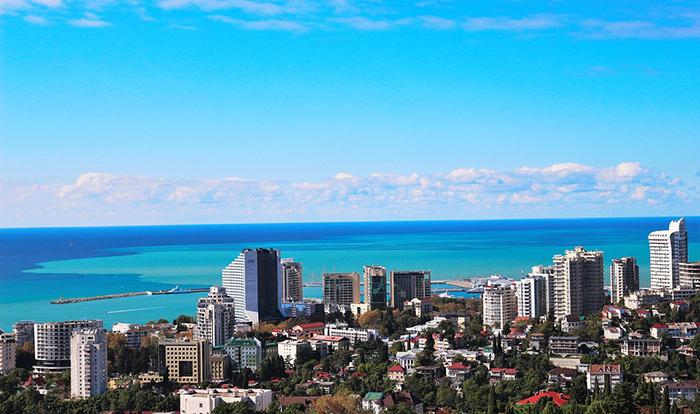 A linda cidade de Sochi vai receber os jogos da Copa do Mundo