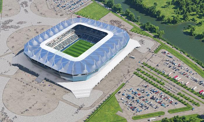 O Kaliningrado Stadium