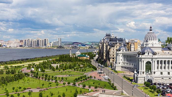 kazan - a cidade russa com mais de mil anos, jovem e tolerante