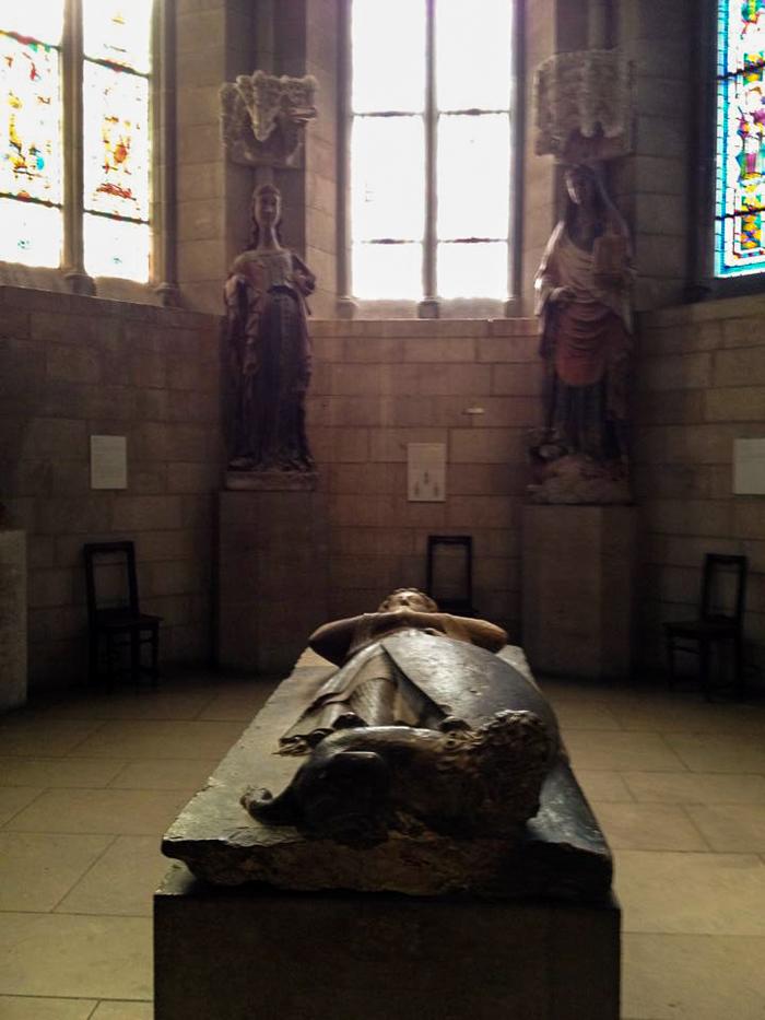 A tumba do conde espanhol