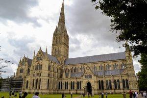 Catedral de Salisbury, na Inglaterra