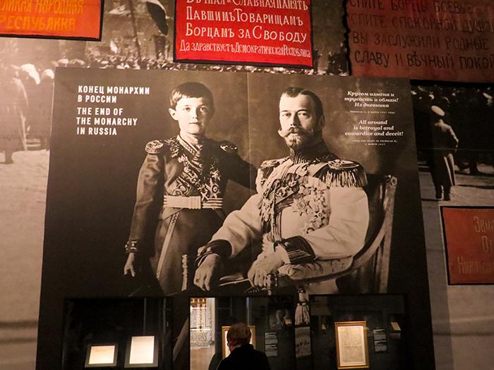 Nicolau II e o filho Alexei