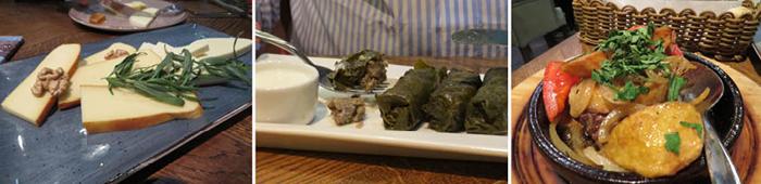 A culinária da Geórgia é farta e deliciosa