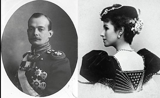 André Vladimirovic e Mathilde