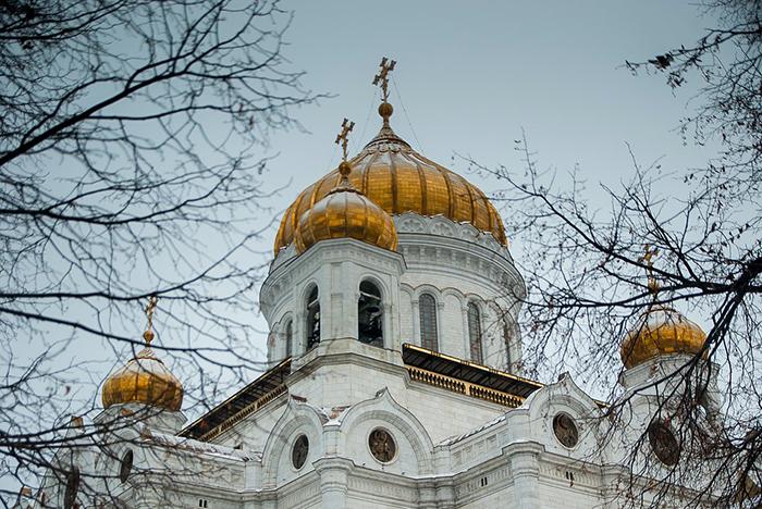 Catedral Cristo Salvador, em Moscou