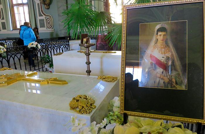 Túmulo da Imperatriz Maria Fiodorovna