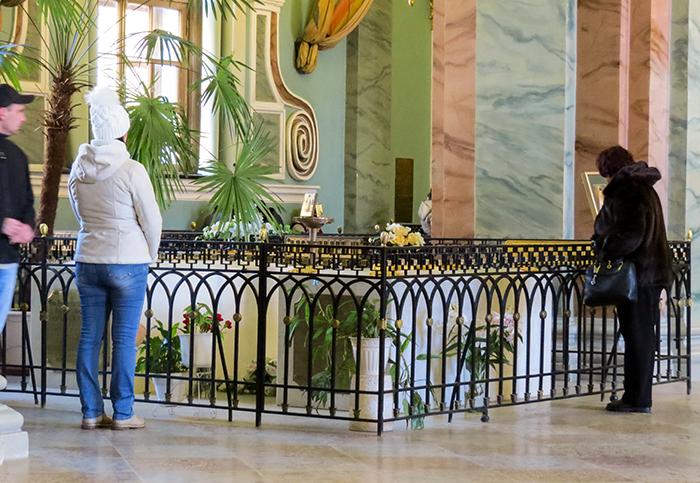 túmulos dos soberanos russos e seus parentes