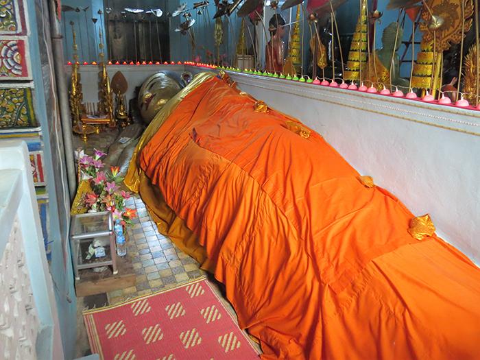O Buda reclinado tem mais de 1500 anos