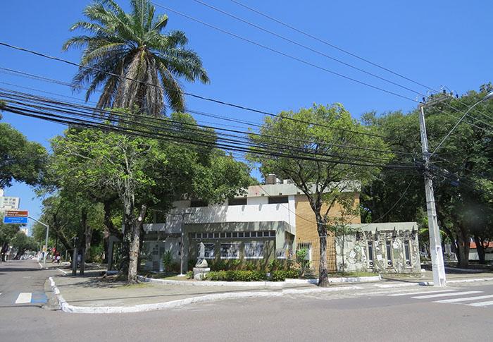 A Galeria Álvaro Santos, em Aracaju