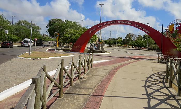 Aracaju_Parque dos Cajueiros_entrada