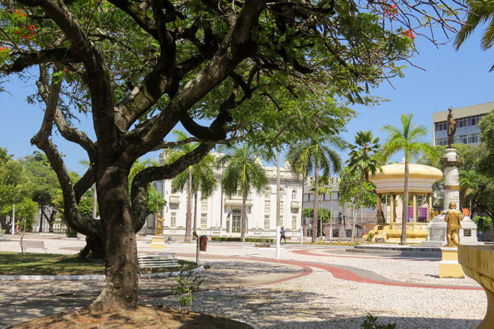 Aracaju - Praça Fausto Cardoso