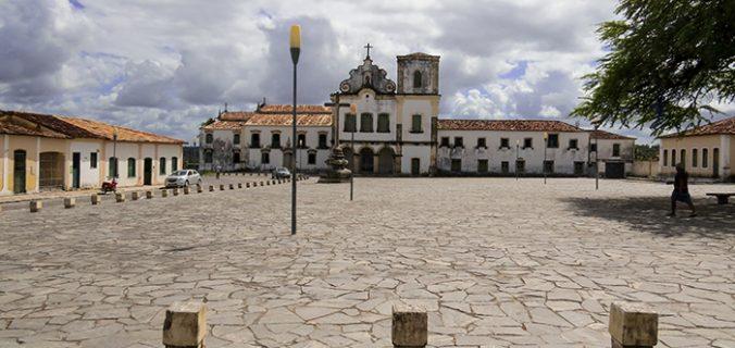 Praça São Francisco, em São Cristóvão, Sergipe