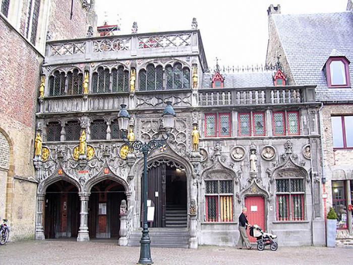 Bruges romântica e a basílica do Santo Sangue
