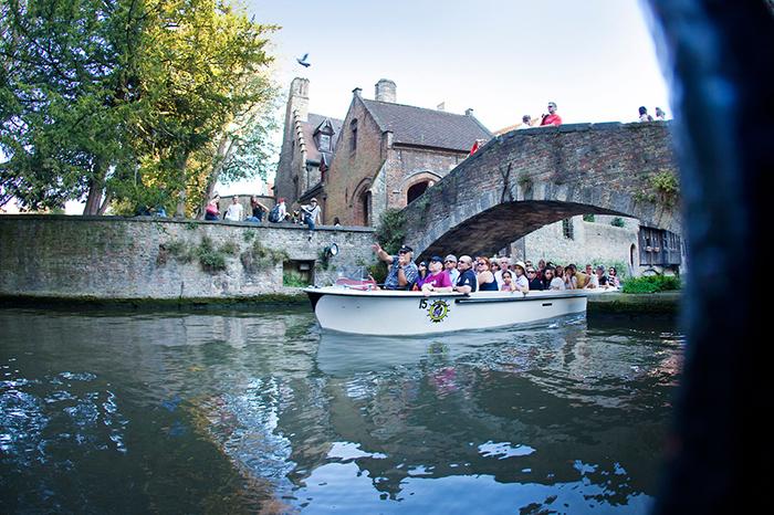 A ponte nem tão antiga e nem tão romântica...mas é carismática. Foto do site