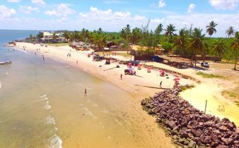 Praia do Saco, em Sergipe