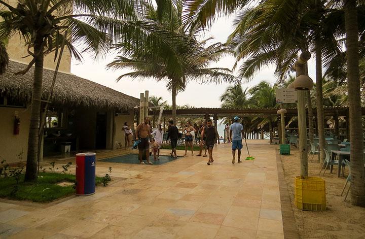 Chega Mais Beach, em Canoa Quebrada, Ceará