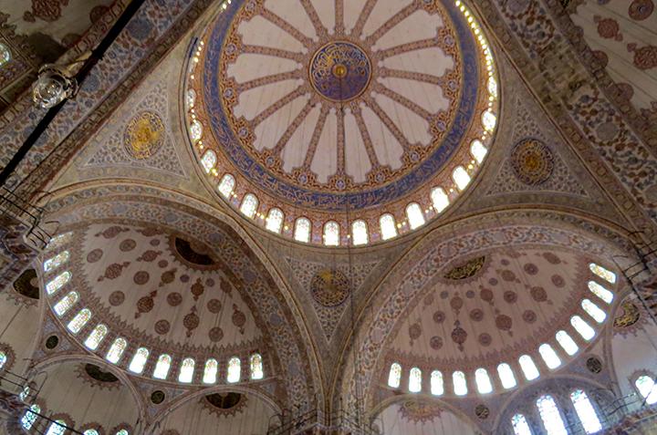 Istambul-Mesquita-Azul-cúpula