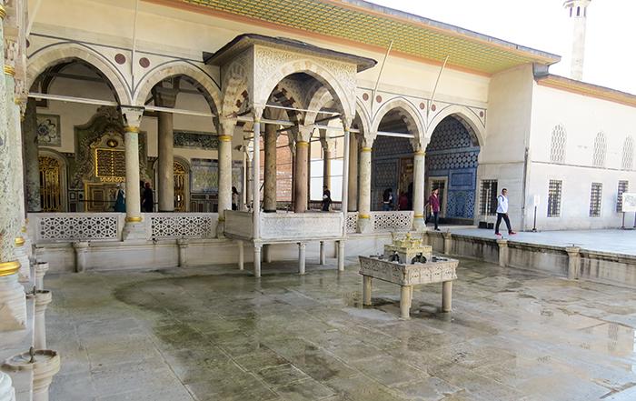 O Pavilhão de Verão, no Palácio Topkapi, em Istambul