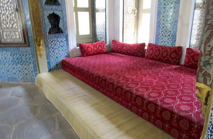 quiosque de Bagdá, no Palácio Topkapi, em Istambul