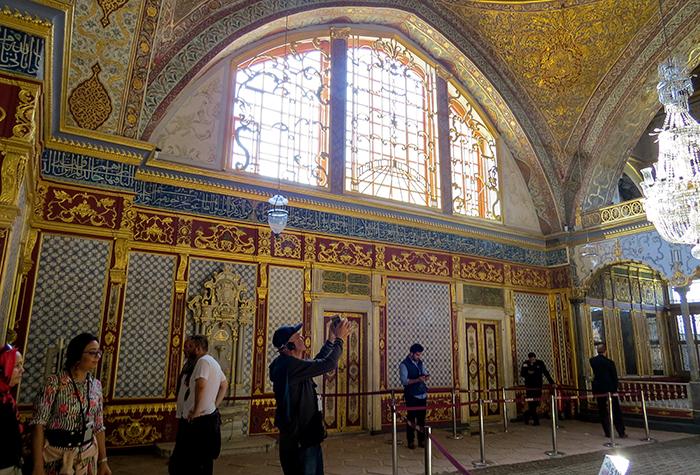 Palácio Topkapi, em Istambul