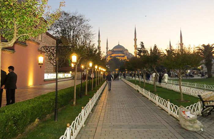 Santa Sofia em Istambul