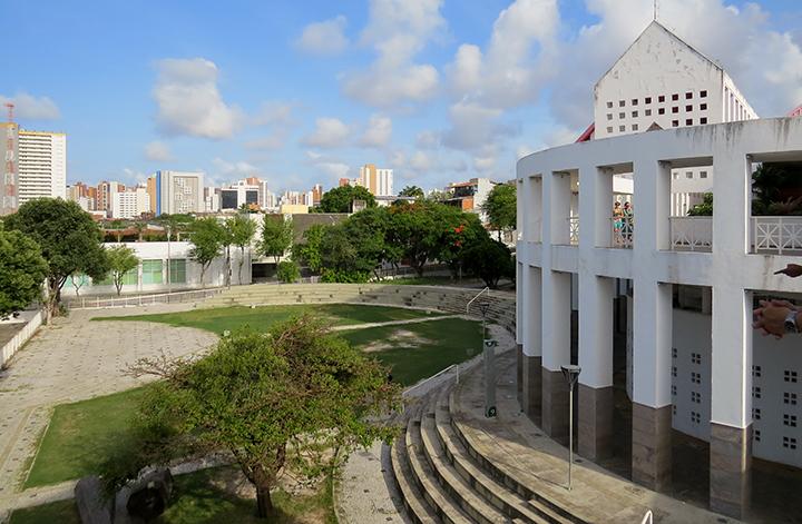 Praça Verde do Dragão do Mar, em Fortaleza, Ceará