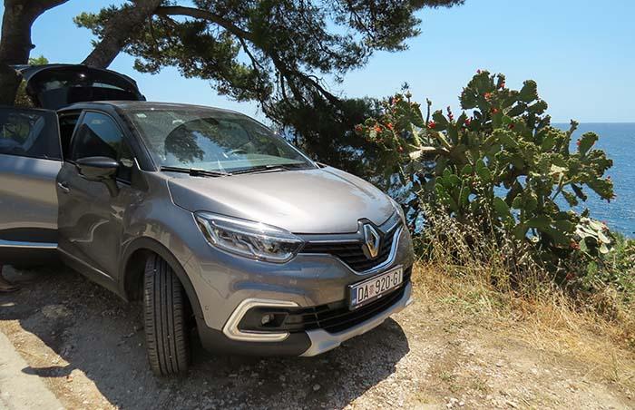 Renault Captur, nas estradas de terra.
