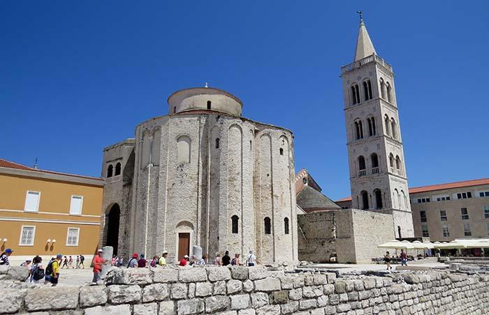 igreja de São Donato, em Zadar