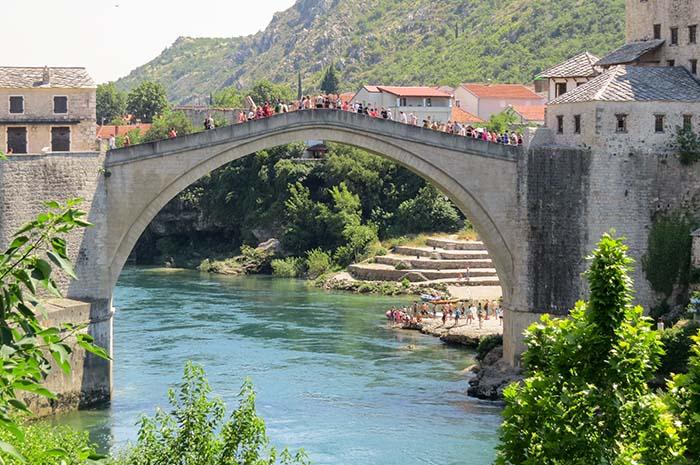 Ponte Velha em Mostar, Bósnia
