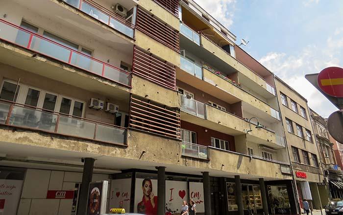 Sarajevo - as marcas de guerra