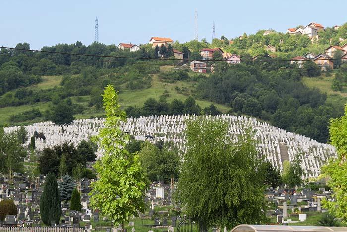 Sarajevo - cemitérios