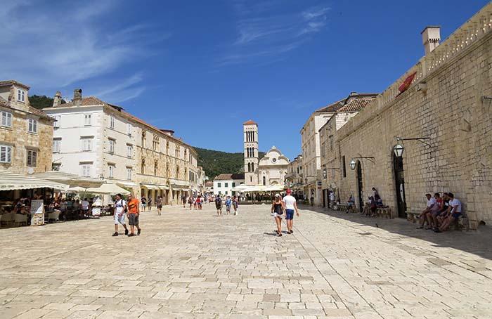 Catedral de Santo Estêvão, em Hvar, Croácia