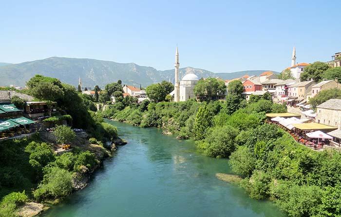 Mostar, na Bósnia