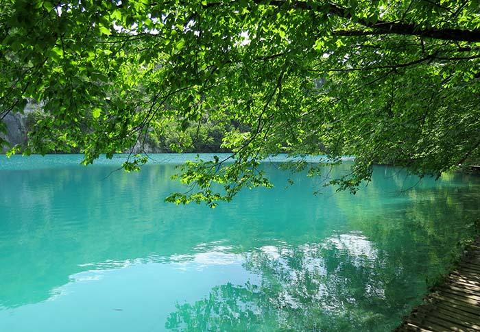 Lagos de Plitvice, na Croácia