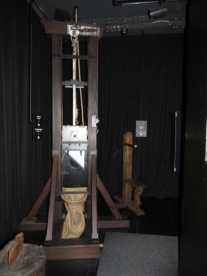 Museu da Tortura em Zagreb, Croácia