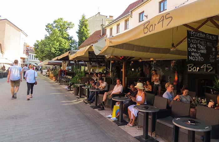 Tkalčićeva Street, em Zagreb, Croácia