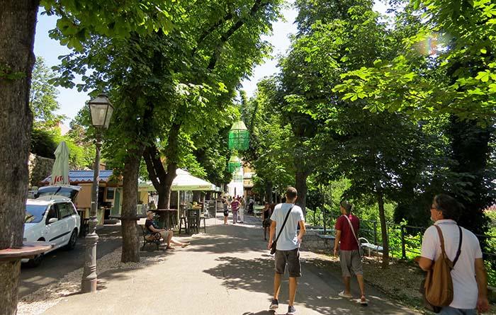 Cidade alta de Zagreb