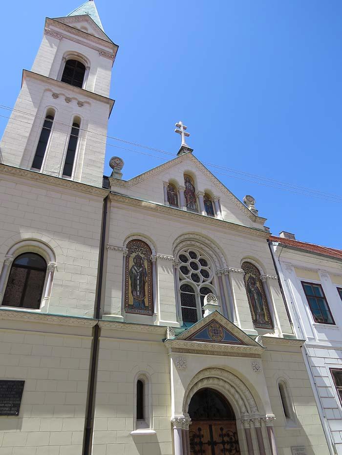 Igreja de São Cirilo e São Método em Zagreb, Croácia.