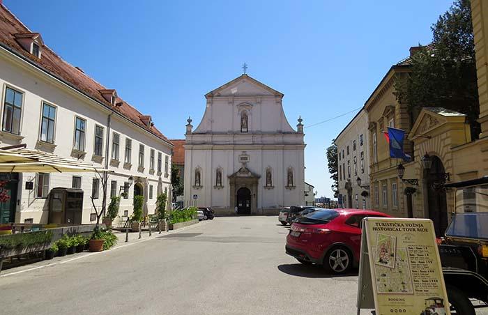 Cidade alta, em Zagreb, Croácia