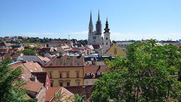 Catedral de Santo Estêvão em Zagreb, Croácia