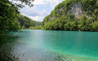 Os lagos Plitvice, na Croácia