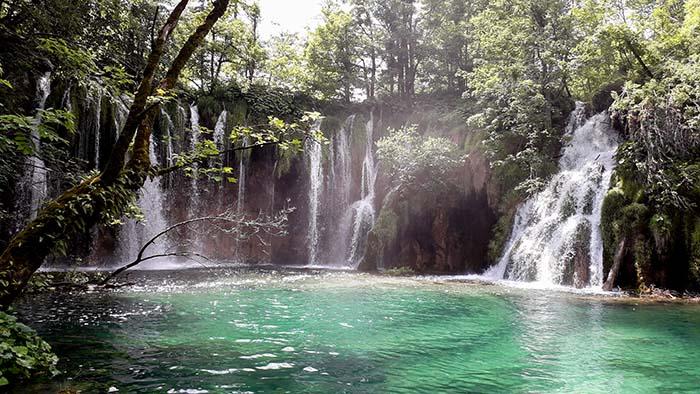Lagos Plitvice, na Croácia
