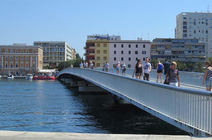 Zadar, na Croácia